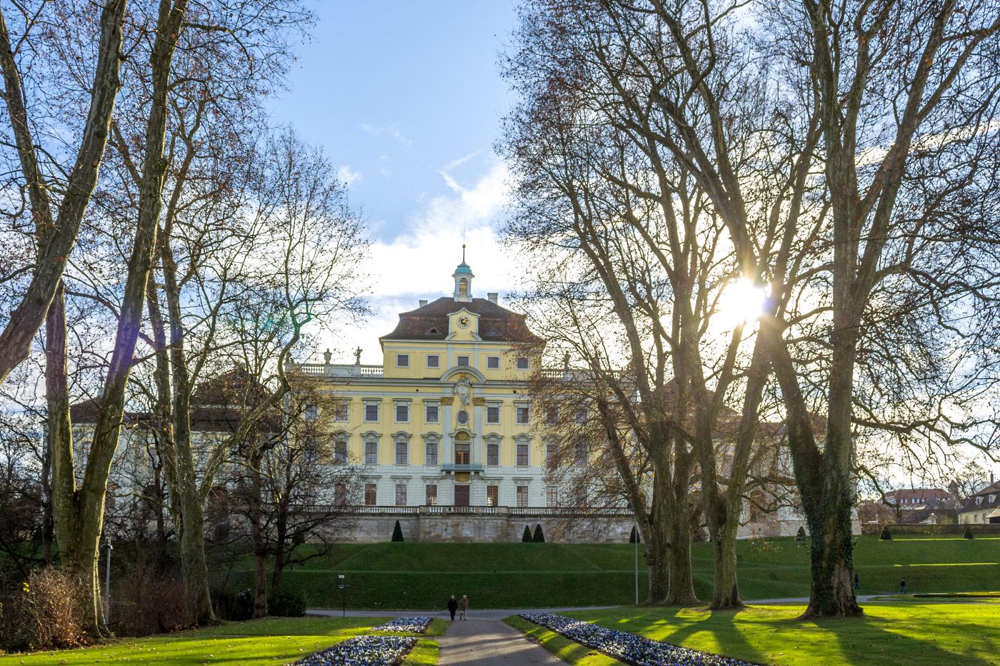 Ludwigsburg Residenz im Herbst