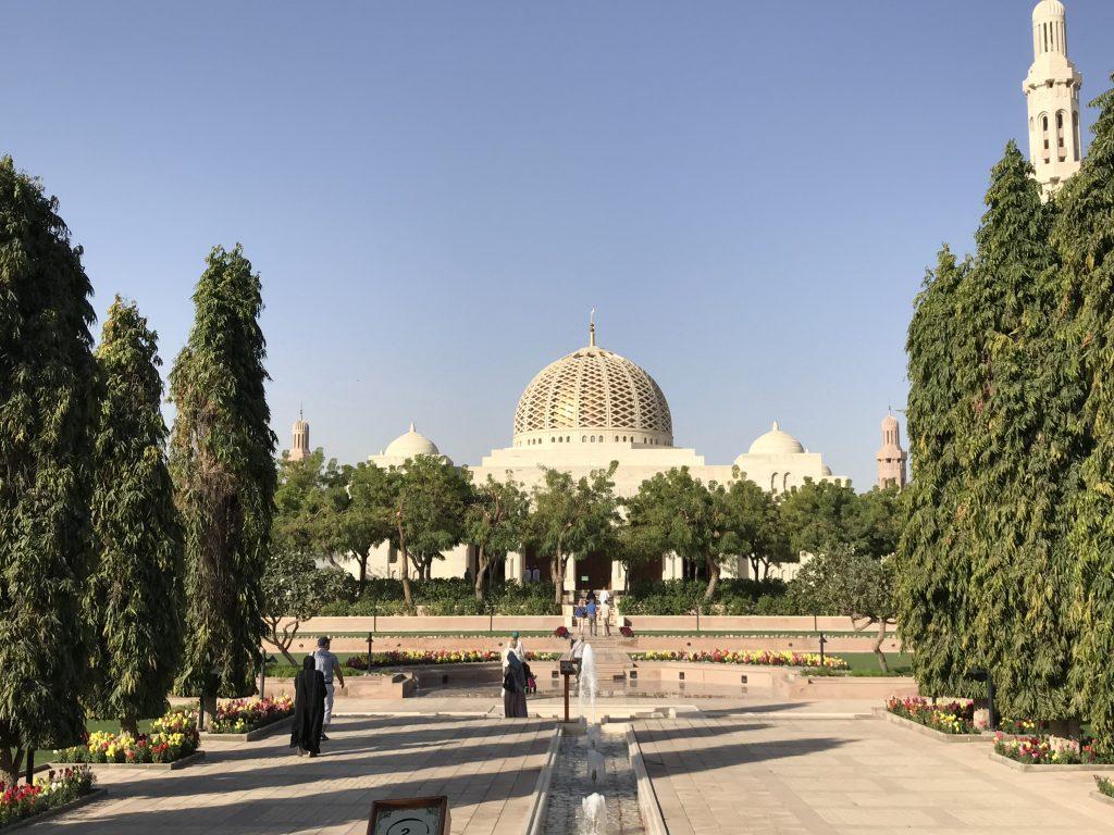 Maerz und Maerz im Orient-Muscat-Moschee